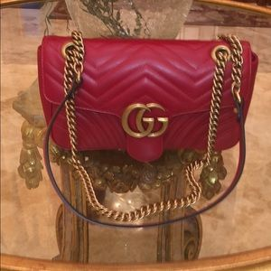 New 💯 % Authentic GG Marmont Matelasse Gucci Bag